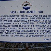 Info Board @ Fort James