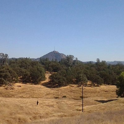Butte Mountain in the distance of Jackson, California