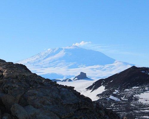 Ross Island taken from Observation Hill