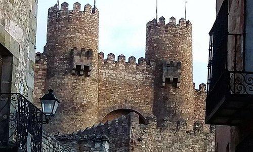 Torres gemelas del Castillo-Parador