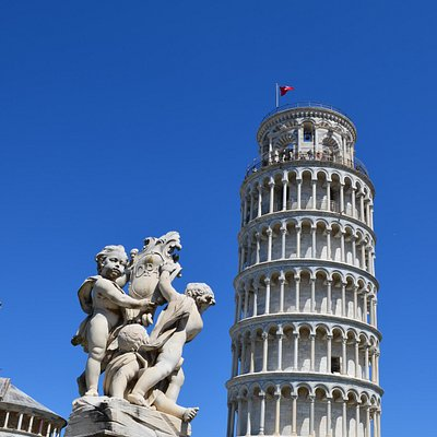 The Leaning Tower of Pisa - a must see: skip the line joining a tour with us!