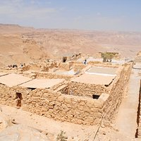 Storerooms etc in the N part of the Masada Fortress