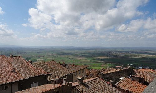 View from the catwalk