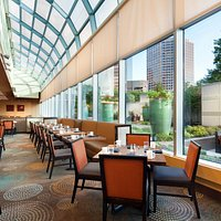 The Kitchen Table Restaurant is located at Sheraton Dallas Hotel