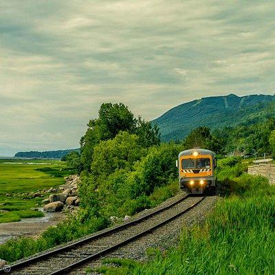 Train de Charlevoix - Petite-Rivière-Saint-François