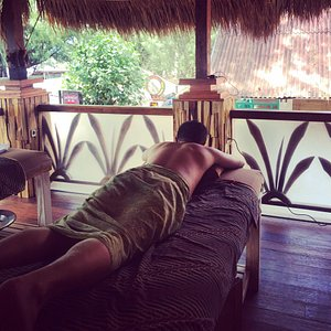 An hour of sheer pleasure for 7/8 usd you'll get a complete balinese full body massage