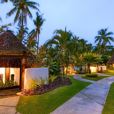 Your own private Fijian Bure treatment room