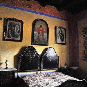 Interno Casa Serra Camera da letto