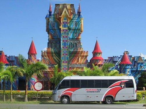 Expresso da Alegria em frente ao Castelo do Beto Carrero!