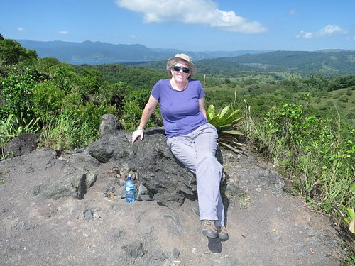 You even get views of Arenal vocano and the lake as well as forest