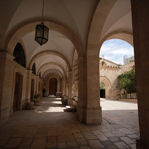 Courtyard of the Monastery of the Flagellation, Jerusalem