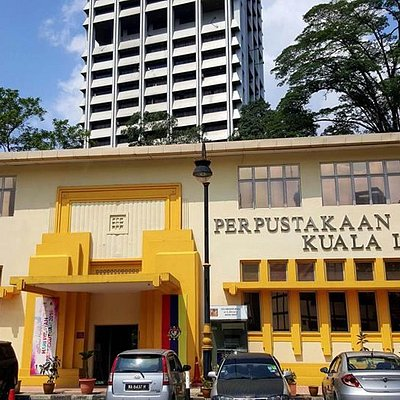 KL Children Library is located next to KL City Library