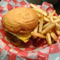 Double Cheeseburger and Fries.