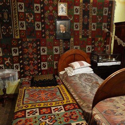 Olha Kobylyanska's Bedroom