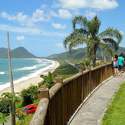 Mirante da Casa de Fátima, Morro das Pedras, Florianópolis, Santa Catarina.