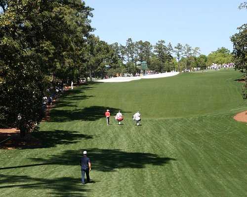 The 18th hole