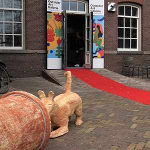 Outsider Artshop located at the Hermitage Amsterdam