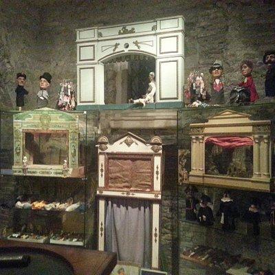 Teatrini e marionette al museo del giocattolo