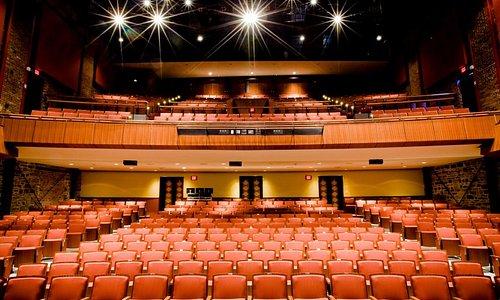 The interior of the Regina Rosen Auditorium