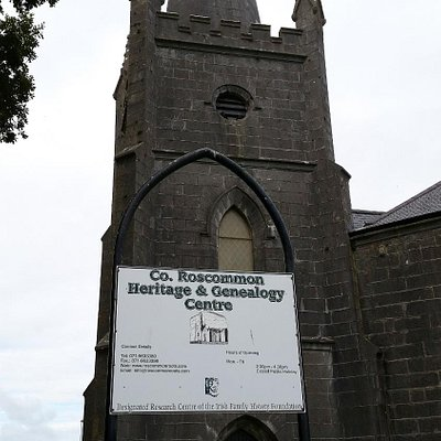 Co. Roscommon Heritage and Geneaology Centre - tower view