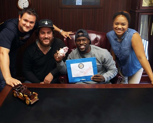 Kevin Hart and our Crew.