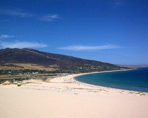 + La playa de Valdevaqueros: un spot seguro.