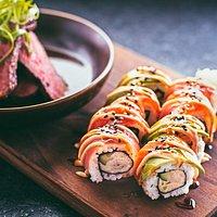Steak and Sushi