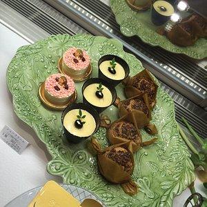 Beautiful desserts and shop