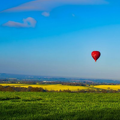 See beautiful Northamptonshire from the skies with Virgin Balloon Flights.