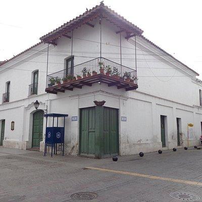 Frente del Museo Casa de Hernández