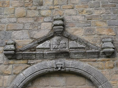 detail above the arch