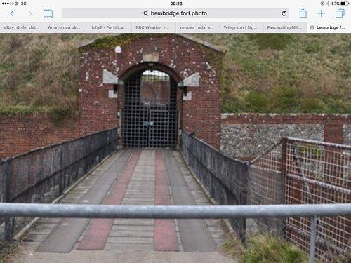 Fort Entrance, formerly a drawbridge