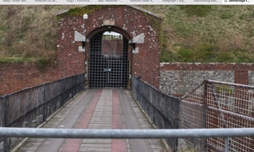Fort Entrance, formerly a drawbridge