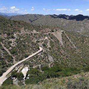 Cuesta de La Chilca - Entre Andalgalá y Alumbrera - Catamarca