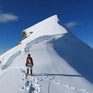 Vallunaraju Mountain 5686m