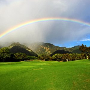 Rainbow Over #7 Tee Box