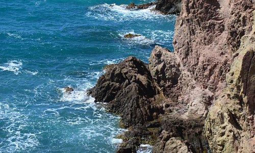 Rotskust Faro de Cabo de Gata