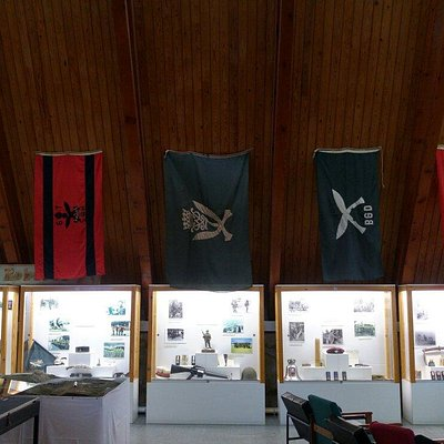 Inside the Gurkha Visitor Centre