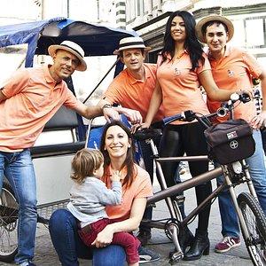 Family day sul Pedicab