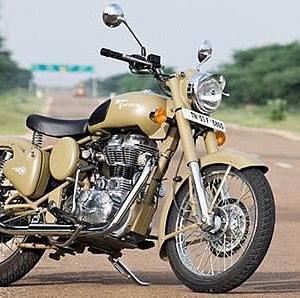 Royal Enfield 350cc Bike Hire in Jaisalmer