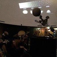 Planetarium chamber