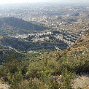Vistas desde el monte Calvario