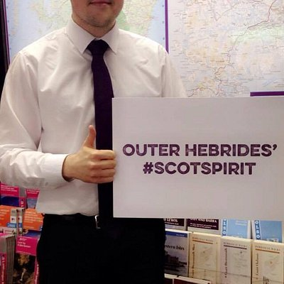 #ScotSpirit - let Stonroway Information Centre help you find yours!