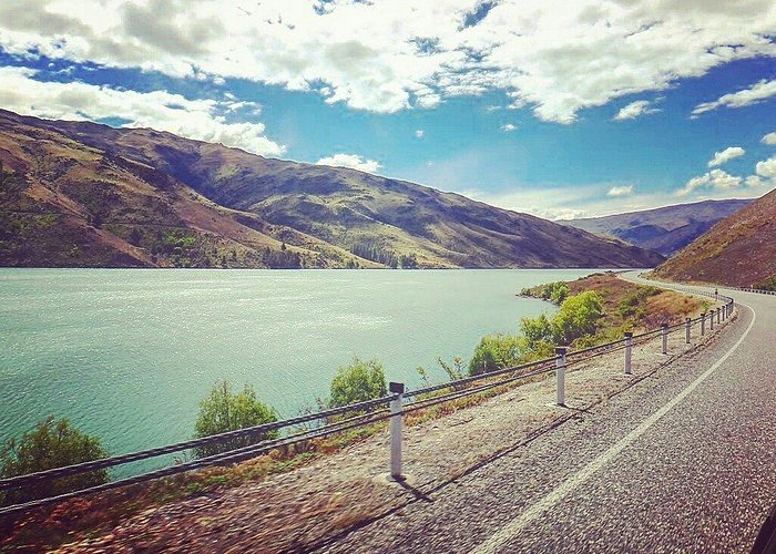 Take me back to here, please?  #raystown #lakedam #alexandria #southisland #newzealand #driving
