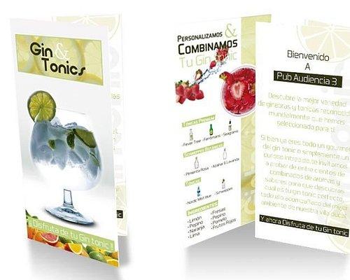 carta gin tonic