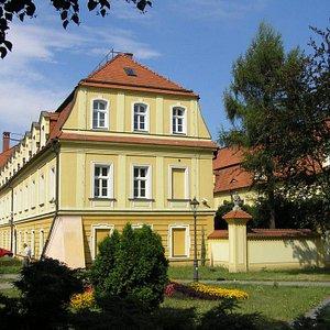 Zamek w Rybniku (Sąd Rejonowy)/ Rybnik Castle (District Court) XIII century  /  XIII wiek