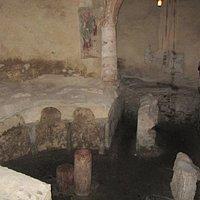 Krypta hinter dem Altar