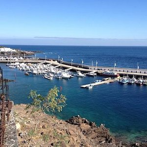 Old Town Harbour Lanzarote