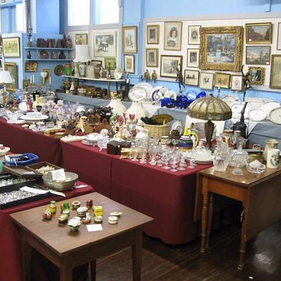 One of the countless rooms of antiques I visited