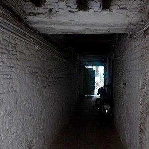 Haveli Alif Shah Entrance
